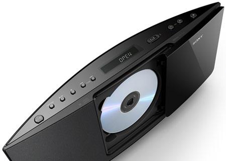 В аудиосистемах Sony CMT-V75BTiP и CMT-V50iP используются громкоговорители с «магнитной жидкостью»