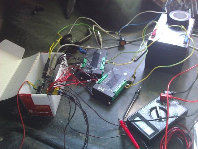 Автоматическая газель на Arduino (часть 1)