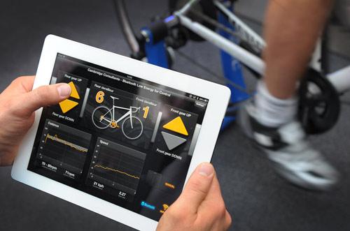 Автоматическая коробка передач для велосипеда на iPhone