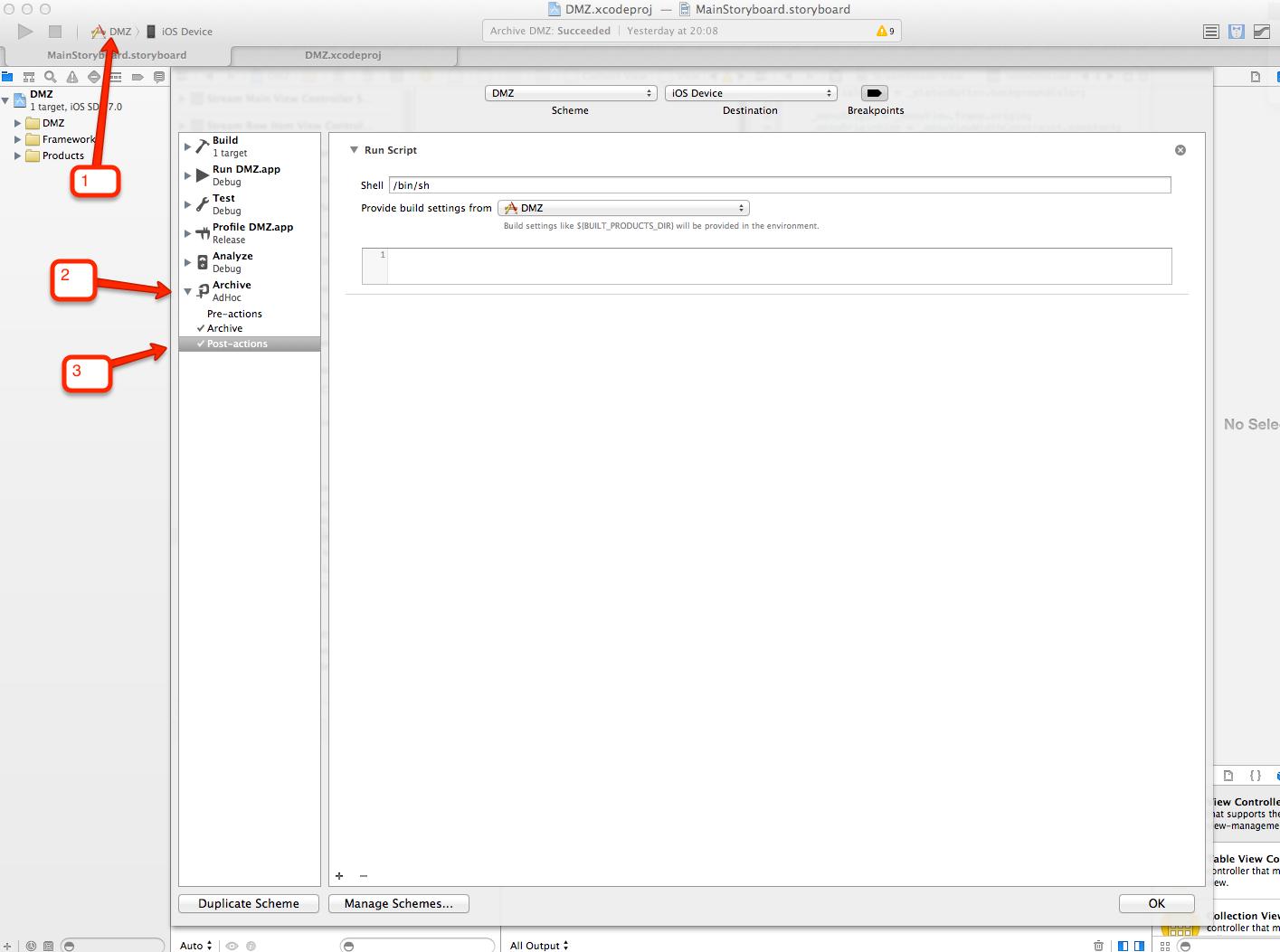 Автоматизация выдачи AdHoc сборки приложения из Xcode для установки на девайс заказчика