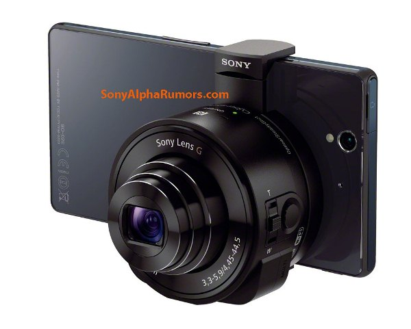 Sony DSC-QX10 и DSC-QX100