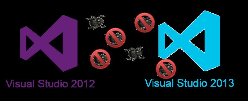 Баги реализации стандарта С++11 в Visual Studio 2012, которые были исправлены в Visual Studio 2013