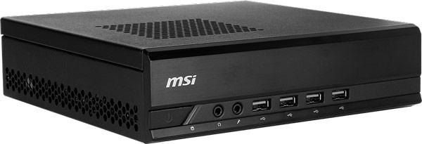 В корпусе MSI ProBox23 есть место для двух накопителей типоразмера 2,5 дюйма