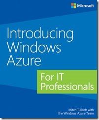 """Бесплатная электронная книга на русском языке """"Знакомство с Windows Azure для ИТ специалистов"""""""
