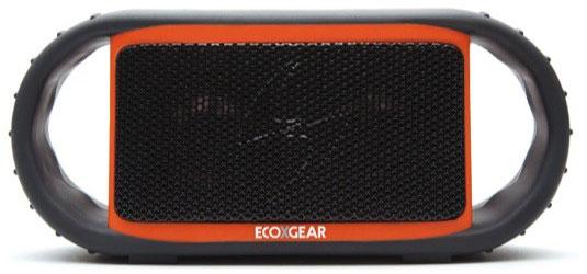 Беспроводная портативная акустическая система ECOXGEAR ECOXBT не тонет в воде