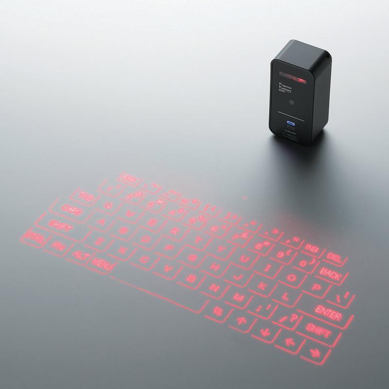 Беспроводная проекционная клавиатура TK PBL042BK
