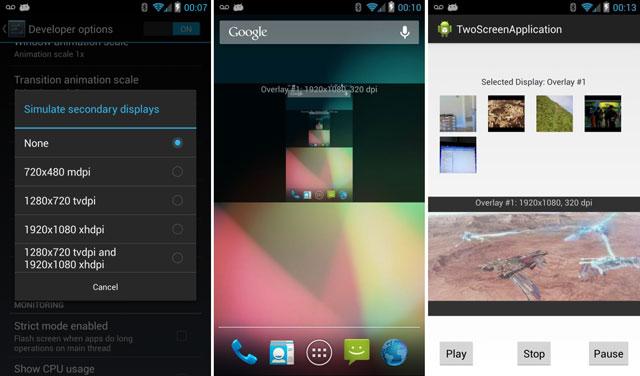 Беспроводной дисплей для Android