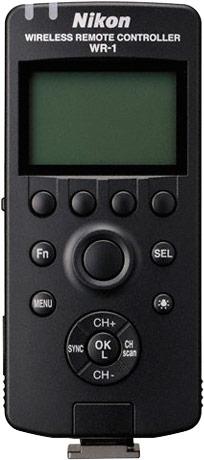 Беспроводной контроллер WR-1 позволяет управлять камерами Nikon на расстоянии до 120 м
