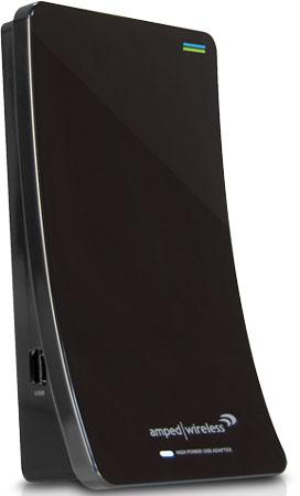 Адаптеры Amped Wireless UA1000 и UA2000 подключаются к порту USB