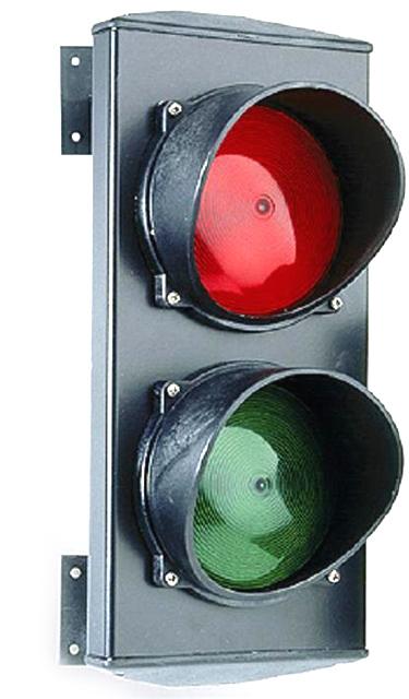 Билд светофор в офисе