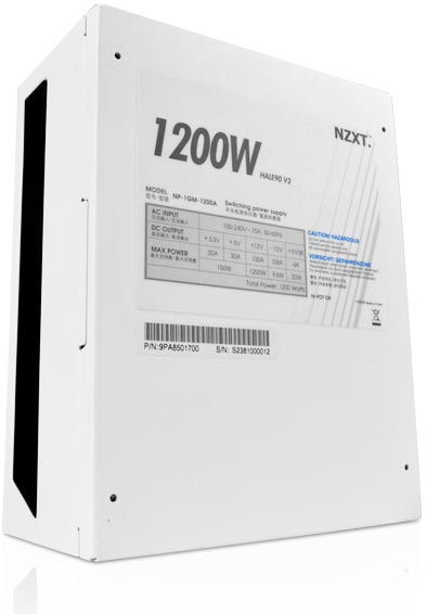 В серию NZXT HALE90 V2 вошли блоки питания мощностью до 1200 Вт