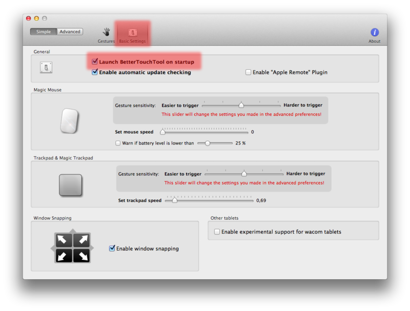 Блокировка экрана в Mac OS X