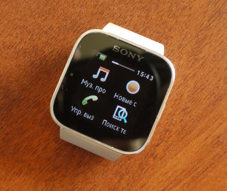Больше, чем часы: обзор Sony SmartWatch