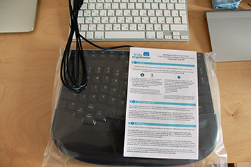 Боремся с RSI — обзор клавиатуры Truly Ergonomic 209