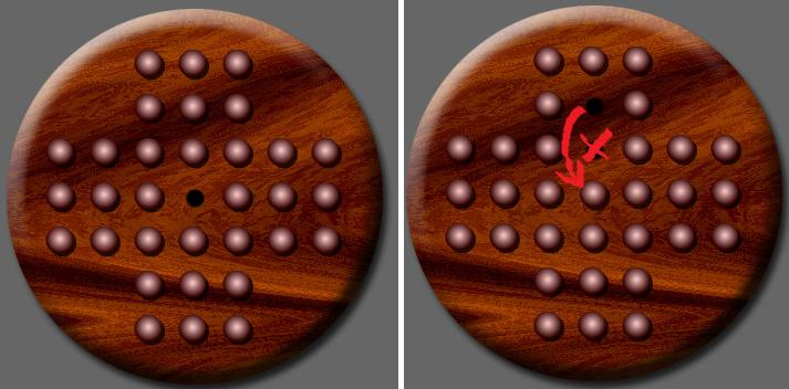 Брутфорс головоломки «Китайские шашки»
