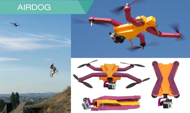 Будущее или настоящее? Автономные дроны для спортивной видео съемки