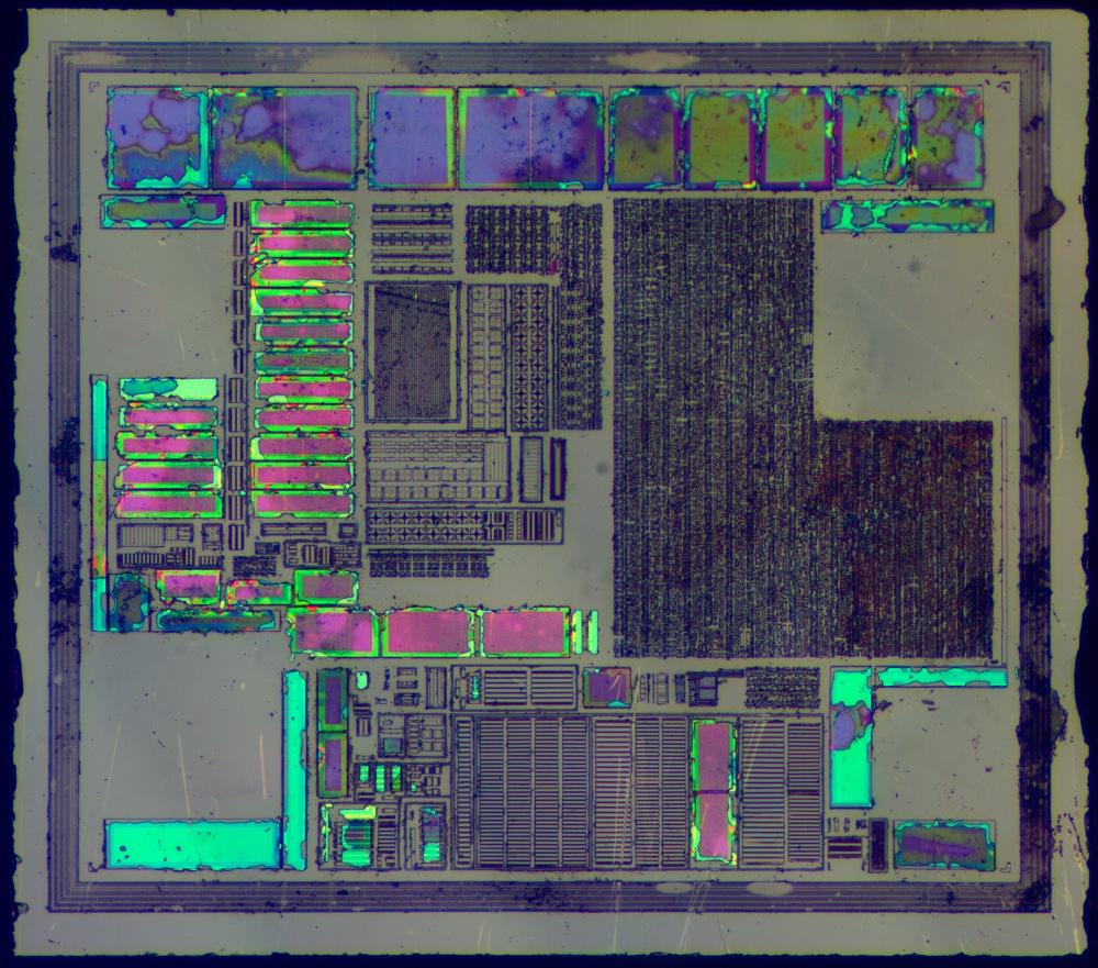 Часть 2: Как «открыть» микросхему и что у неё внутри? Z80, Мультиклет, MSP430, PIC и другие