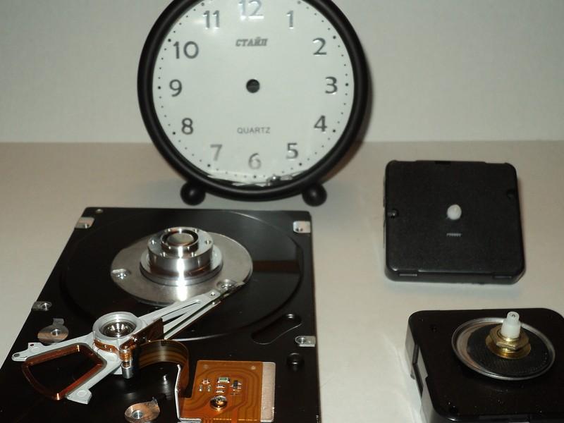 Часы из винчестера за пару часов