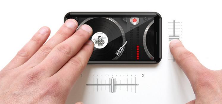 Чехол, который делает пространство вокруг смартфона сенсорным