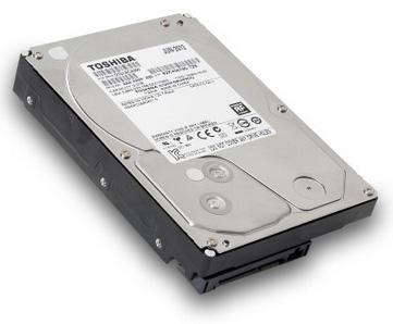 Выпуск HDD Toshiba объемом 5 ТБ состоится уже скоро?