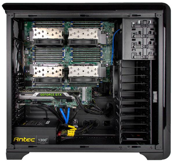 Конфигурация Peak Quad может включать до 1 ТБ оперативной памяти