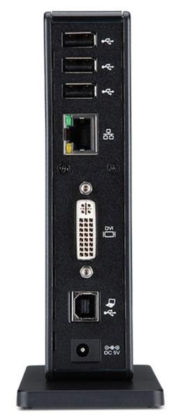 Чипсет DisplayLink DL-165 послужил основой для стыковочной станции Acer с интерфейсом USB 2.0
