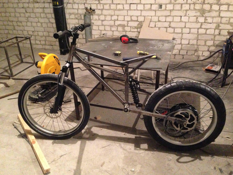 Как сделать свой велосипед своими руками 147