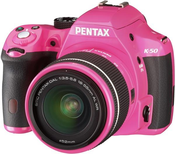Стоимость камеры Pentax K-50 с объективом smc Pentax-DA L 18-55mm F3.5-5.6AL WR равна $780