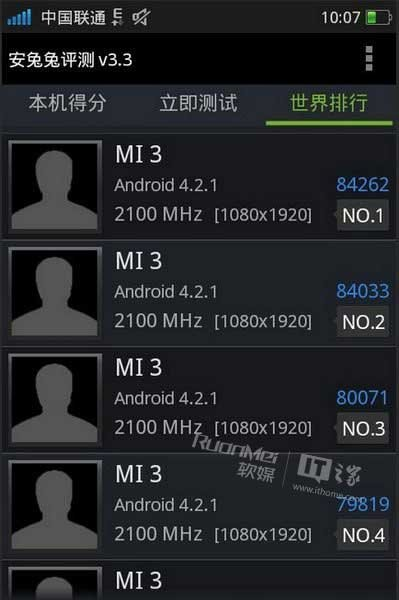 Смартфон XiaoMi Mi3 будет построена на однокристальной системе Qualcomm Snapdragon 800