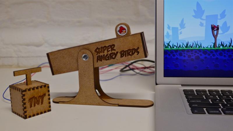 Джойстик специально для Angry Birds