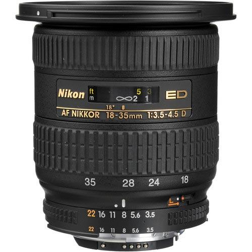 До конца месяца Nikon представит полнокадровый объектив Nikkor AF-S 18–35mm f/3.5–4.5G ED