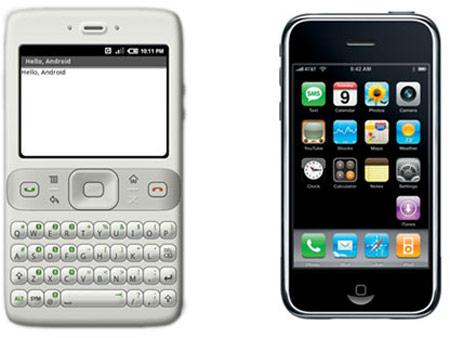 В документации, датированной 2006 годом, были упомянуты многие ключевые компоненты платформы Android