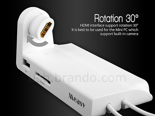 Док Measy U2C-D Mini PC Holder стоит $20