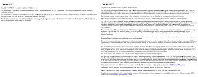 Документация MySQL уведена от лицензии GPL