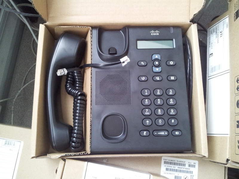 Дружим Cisco IP Phone CP 7925G (WiFi), Cisco IP Conference Station CP 7937G, CP 3905G и Unified IP Phone CP 7965 с Asterisk