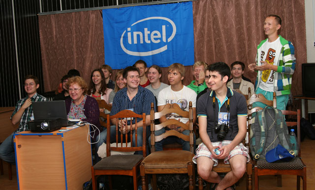 Два дня из жизни летней школы Intel 0x7DD
