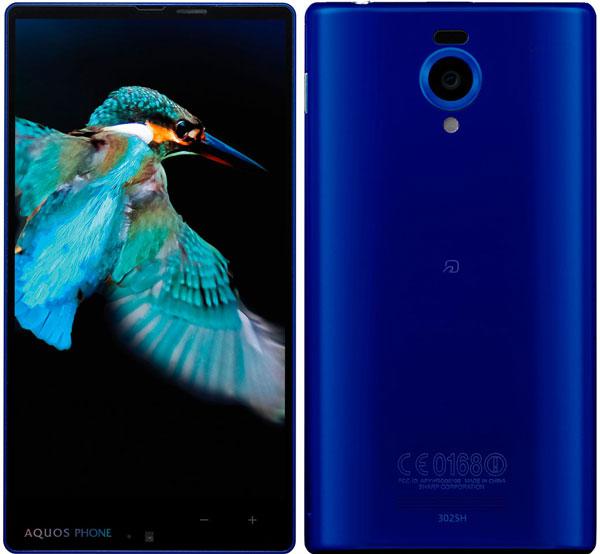 Уникальность смартфона Sharp Aquos Xx 302SH видна с первого взгляда