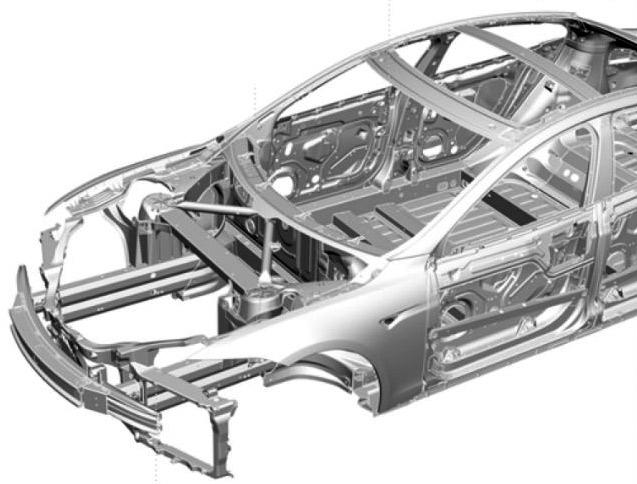 Электромобиль Tesla S сломал оборудование для проведения краш тестов