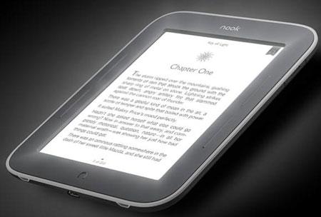 Электронная книга NOOK с подсветкой стала дешевле на $20