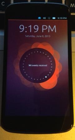 UbuntuTouch@Nexus 4