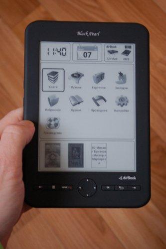 Гаджеты. Устройства для гиков / Обзор электронной книги AirBook Black Pearl