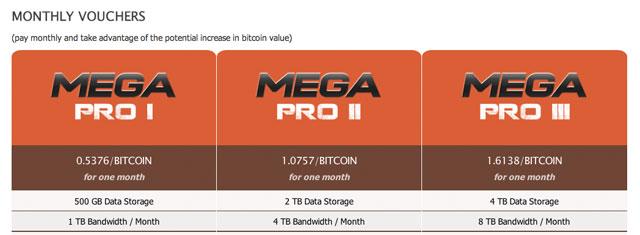 Файлообменник Mega начал принимать к оплате Bitcoin