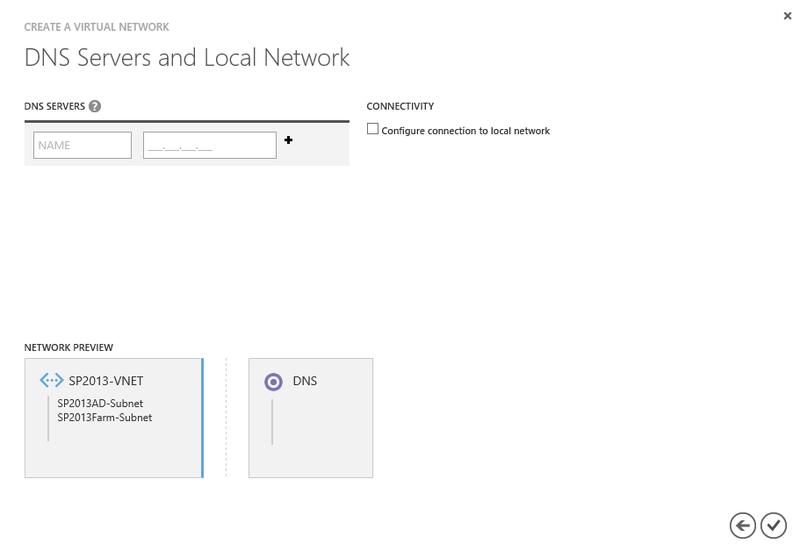 Ферма SharePoint 2013 в Windows Azure. AD DC