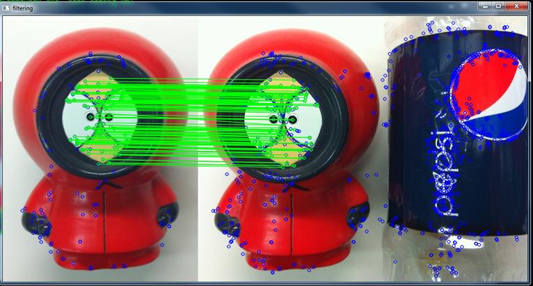 Фильтрация ложных соответствий между изображениями при помощи динамического графа соответствий