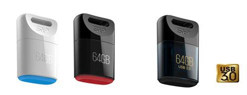 Накопители Silicon Power Touch T06 и Jewel J06 защищены от пыли и воды