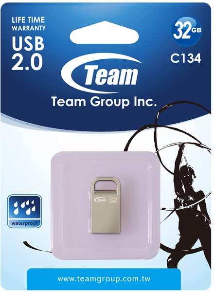 Накопители Team Group C134 выпускаются объемом 4, 8, 16 и 32 ГБ