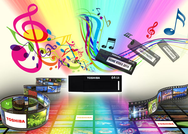 Поставки флэш-накопителей Toshiba TransMemory черного цвета начнутся до конца июня