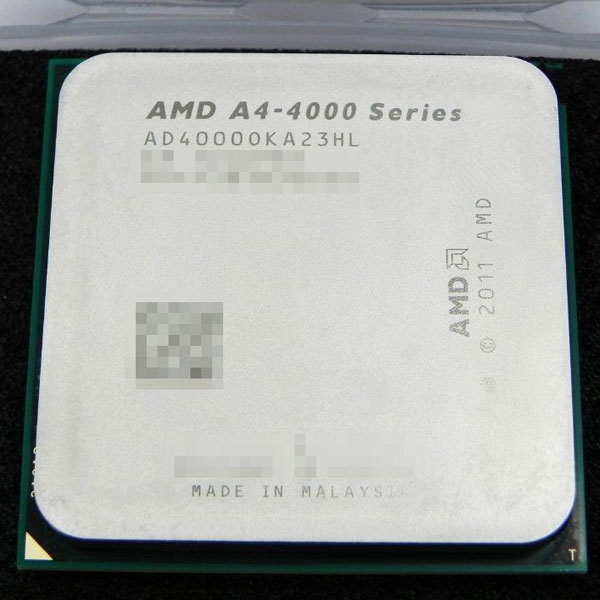 Новое поколение APU в исполнении FM2 откроют модели A10-6800K, A10-6700 и A4-4400