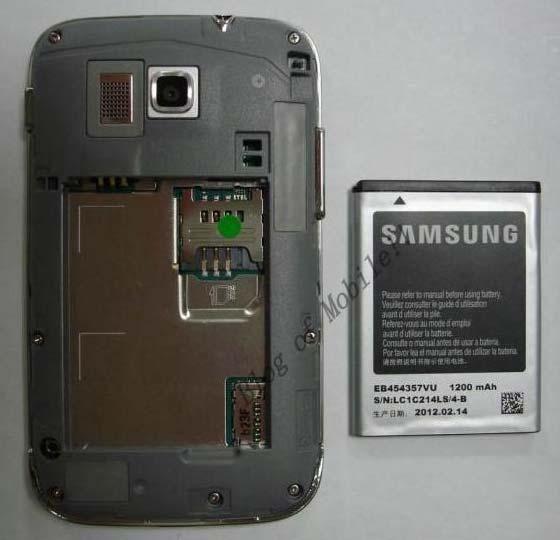 Фото дня: смартфон Samsung с клавиатурой QWERTY и ОС Android 4.0