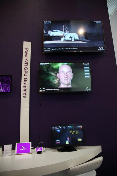 Фото с MWC 2014: стенд Imagination Technologies